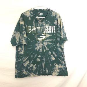 NFL Shirts - CUSTOM GREEN BAY PACKERS T-SHIRT